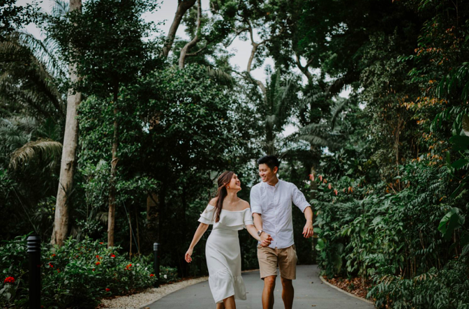 engagement shoot singapore
