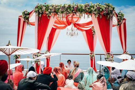 Indian wedding venue in bali