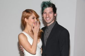 Hollywood celebrity weddings (Debby Ryan and Joshua Dun)