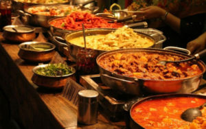 food and catering ideas for Indian wedding
