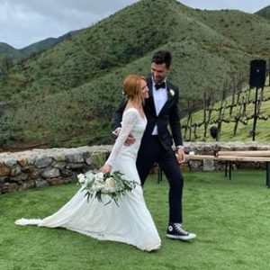 Brittany Snow and Tyler Stanaland wedding
