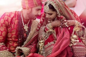 Indian celebrities' wedding: Deepika and Ranbveer wedding