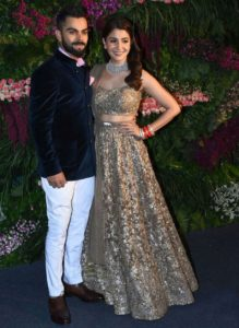 Indian celebrities' wedding: Anushka and Virat wedding reception