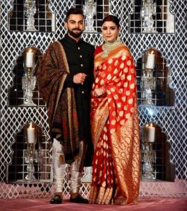 Indian celebrities' wedding: Virat and Anushka wedding reception