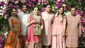 Isha Mehta and Anand Ambani wedding