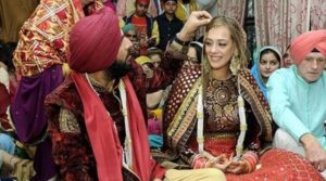 Indian celebrities' wedding: Hazel Keech and Yuvraj Singh