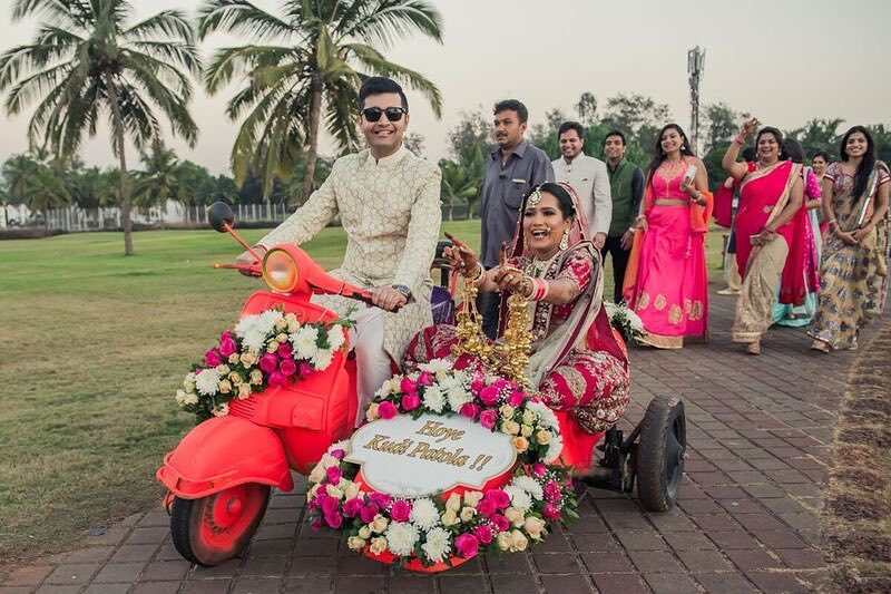 Best bride and groom entry ideas
