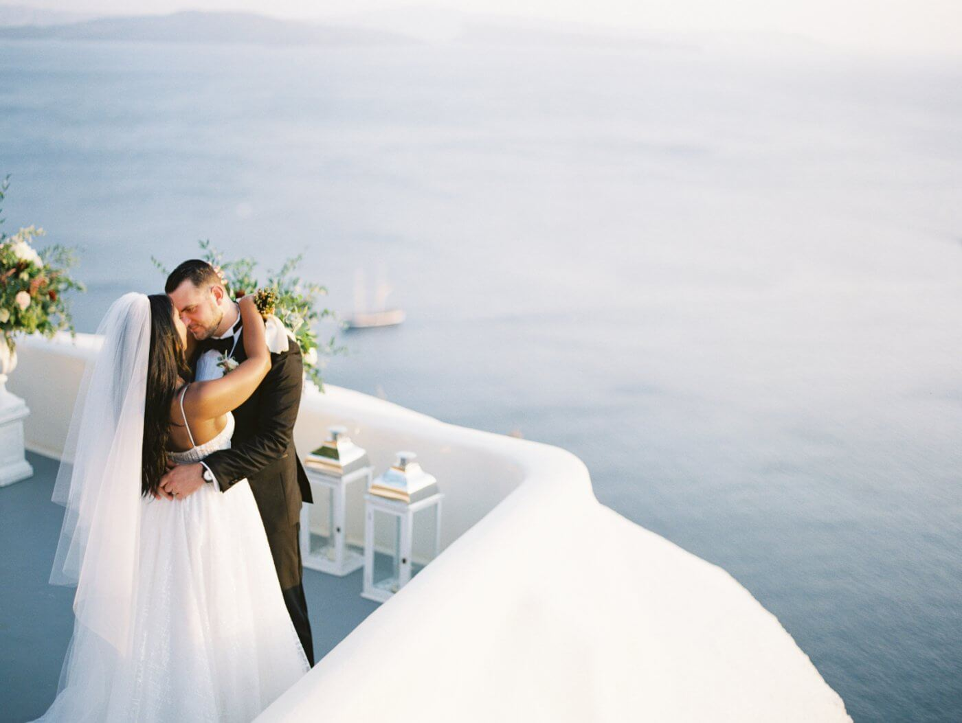 wedding in Santorini at Canaves oia